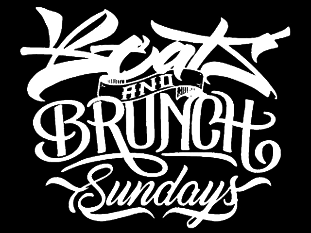 """Beats & Brunch"" Sundays logo"